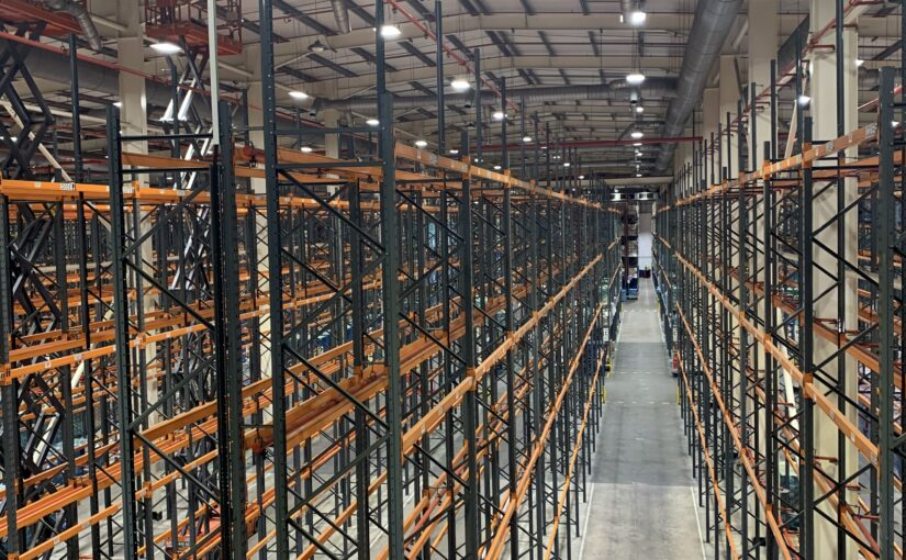 Food Production Factory lighting upgrade