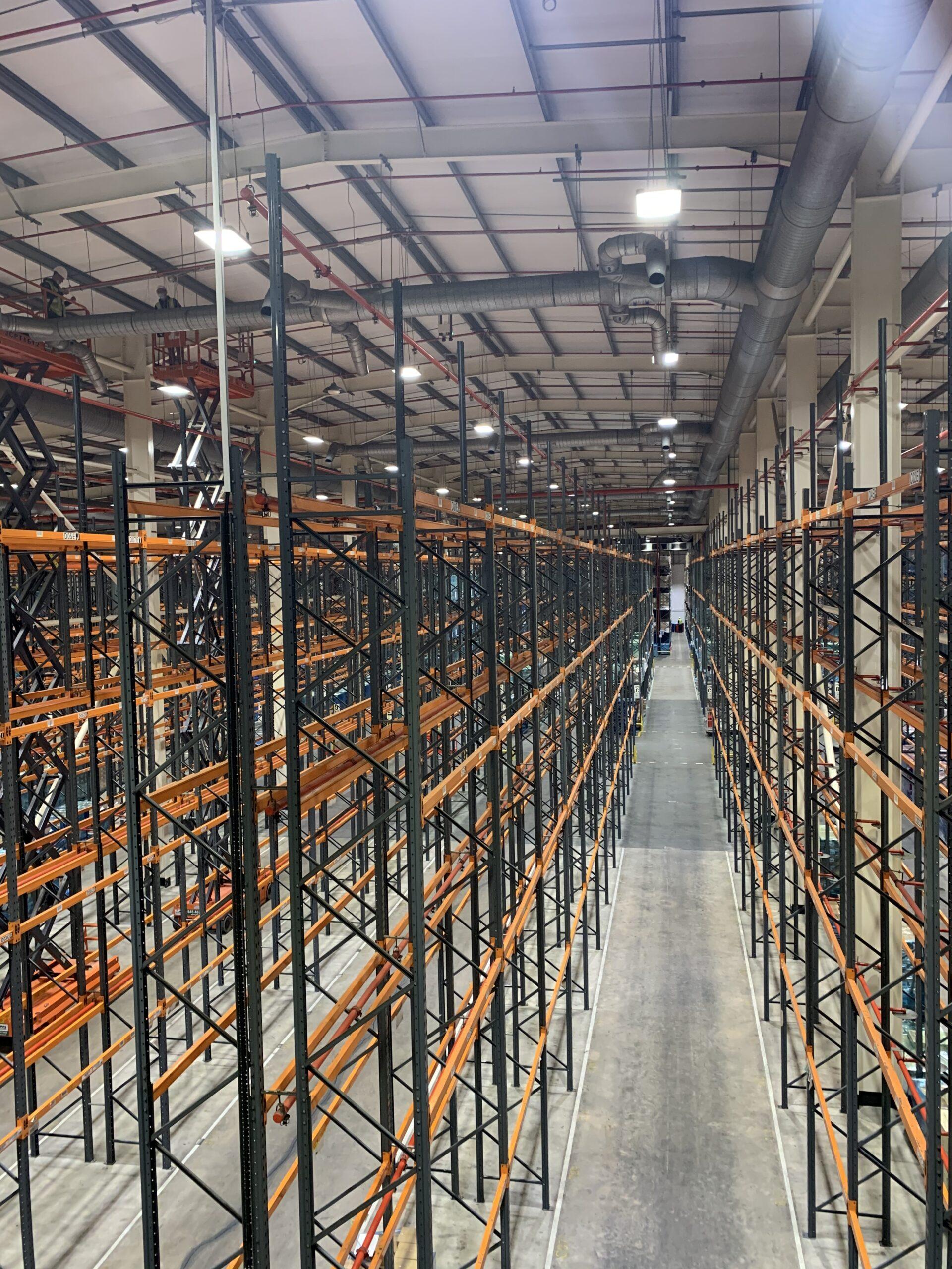 food warehouse lighting