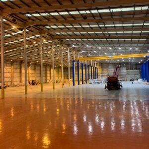 modern paper warehouse